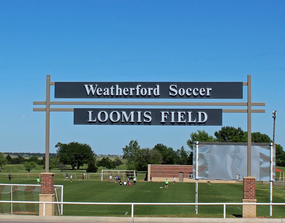 Weatherford Soccer Loomis Field